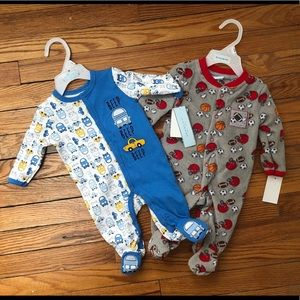 Other - Set of two footie pajamas 0-3 Month
